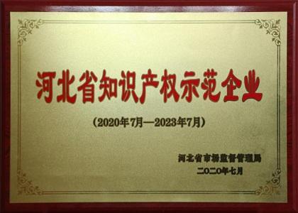 河北省知识产权示范企业
